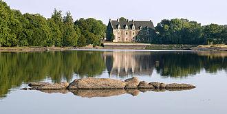 Château de Comper - The Château de Comper in 2010
