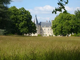 Chateau d'Azay-le-Ferron Seen from ParkFrench.JPG
