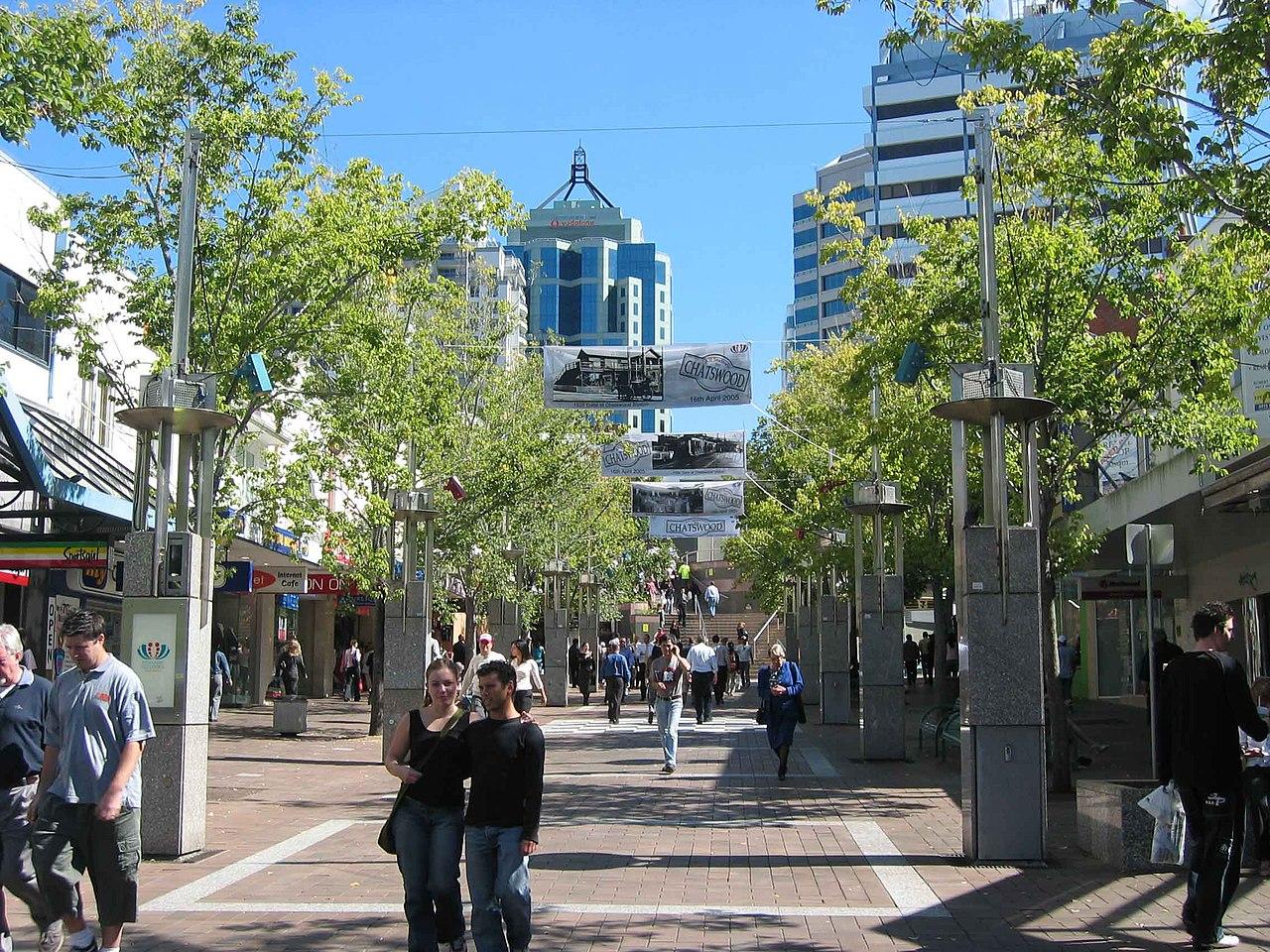 Victoria Avenue pedestrian mall