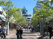 Chatswood, New South Wales-Pedestrian Mall