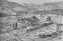 création chemin de fer