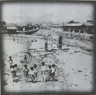 Cheonggyecheon - Cheonggyecheon in 1904