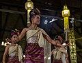 Chiang Mai. Benjarong Khantoke. Traditional Thai dance. 2016-10-14 20-41-35.jpg