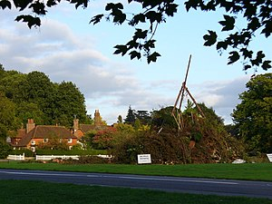 Chiddingfold - Bonfire on the Green