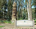 Chief Kno-Tah with sign - Hillsboro, Oregon.JPG