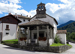 Church of San Biagio at Mediis.