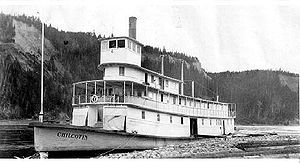 Chilcotin (sternwheeler) - Image: Chilcotin at South Fort George