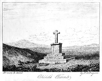 Childe's Tomb - Childe's Tomb before its destruction in 1812