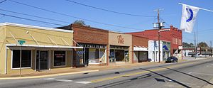 Childersburg, Alabama - Downtown Childersburg