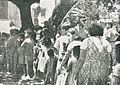 Chinese Indonesians queuing for food, Impressions of the Fight ... in Indonesia, p20.jpg