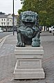 Chinese lion, Great George Street.jpg