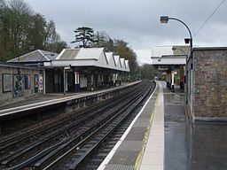 Chorleywood station look south