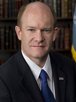 Chris Coons, official portrait, 112th Congress (1).jpg