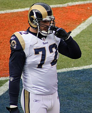Chris Long - Chris Long at a game in Denver in November 2010.