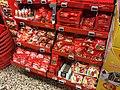 Christmas Marzipan Chocolate (Nidar julemarsipan) for sale at Spar Supermarket in Tjøme, Norway 2017-12-05.jpg