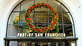 Christmas Wreath, Port of San Francisco, 5 December, 2011.JPG