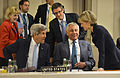 Chuck Hagel and Secretary of State John Kerry at the NATO summit, September 2014.jpg