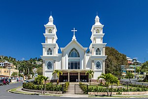 Samaná (town) - Catholic church in Santa Bárbara de Samaná.