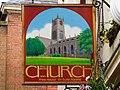 Church Inn sign - geograph.org.uk - 1244068.jpg