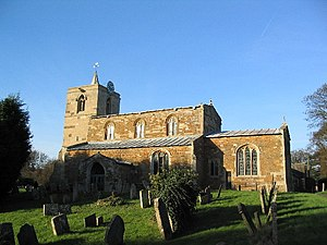Grade II* listed buildings in Rutland - Image: Church of All Saints, Braunston geograph.org.uk 82673