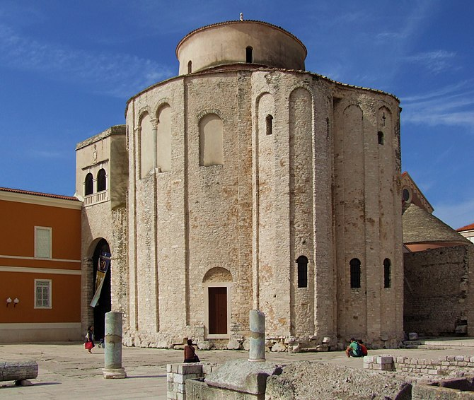 English: Church of St. Donatus in Zadar. Franç...