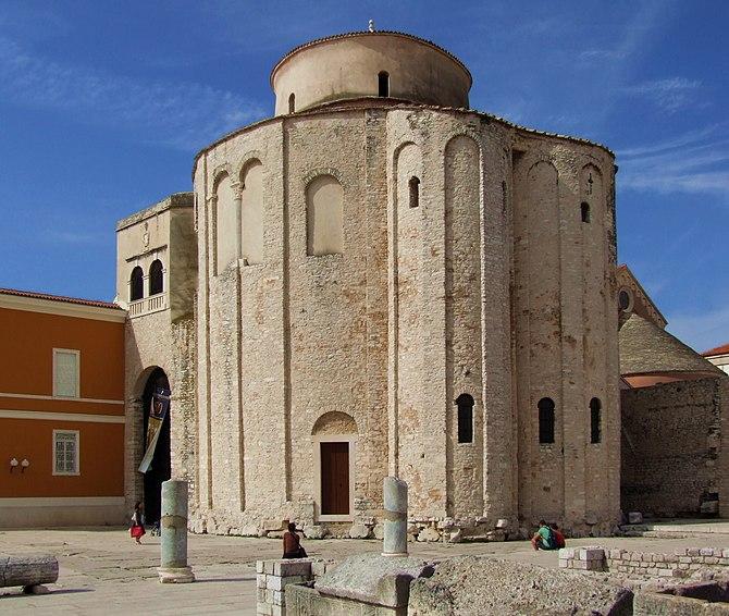 English: Church of St. Donatus in Zadar. Franç...