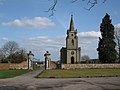 Church of St John the Baptist, Honiley - geograph.org.uk - 1770908.jpg