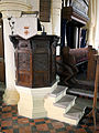 Church of St Mary Matching Essex England - pulpit.jpg