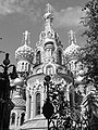 Church of the Saviour on the Blood, St Petersburg (2012-08-17, black-and-white).jpg