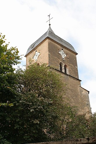 Chambolle-Musigny - Image: Church tower