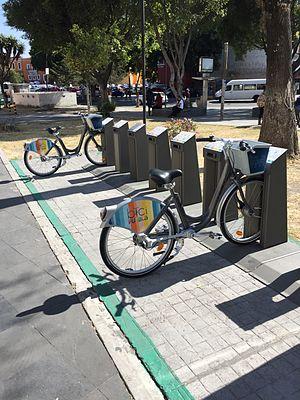 Ciclo estación Puebla