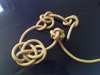 Button knot type of knot