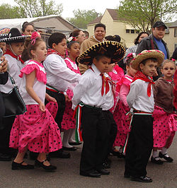 Cinco de Mayo celebration in St. Paul, MN.