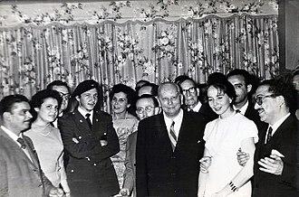 Raúl Castro - Raúl Castro with Salvador Allende, 1959