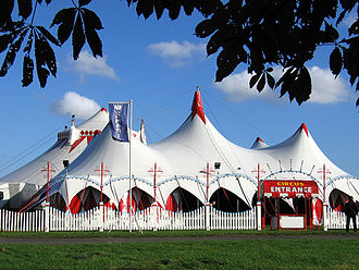 The Big Top of Billy Smart's Circus Cambridge 2004 CircusTent02.jpg