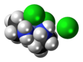 Cis-Dichlorobis(ethylenediamine)cobalt(III) chloride 3D spacefill.png