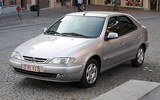 Citroën Xsara - Image: Citroën Xsara in St Trond
