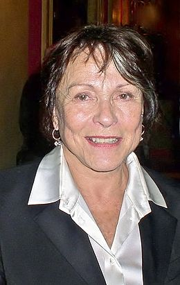 Claire Bloom at the STR Theatre Book Prize ceremony on 18 May 2011 at the Drury Lane Theatre, London.jpg
