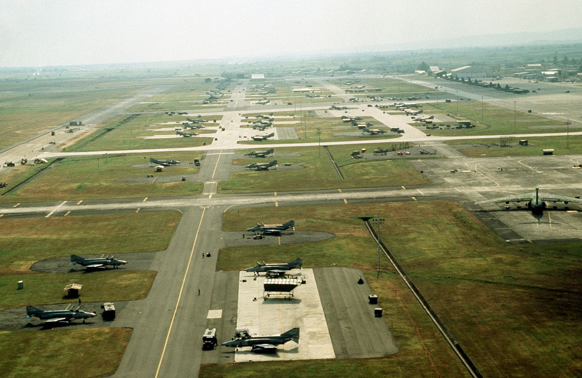Clark Air Base Wikipedia - Map us milittary bases opened