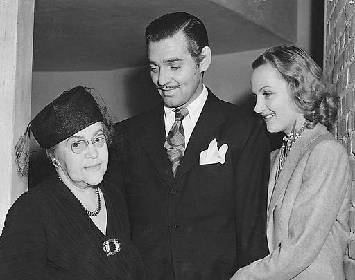Clark Gable Carole Lombard and Lombard's mother 1939