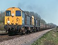Class 20, nos. 20037 & 20068 on a westbound train, west of Frisby on the Wreake, Leicestershire, Nigel Tout, 20.4.76.jpg