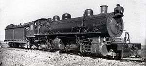 South African Class MF 2-6-6-2 - SAR no. 1620, ex CSAR no. 1016, c. 1920