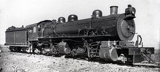 South African Class MF 2-6-6-2 - SAR no. 1620, ex CSAR no. 1016, c. 1920