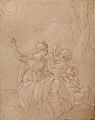 Classical Female Figure (Diana or Venus) with Two Infants. MET 2006.393.25.jpg
