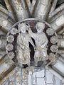Clef voûte chœur cathédrale Rouen.JPG