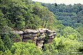 Cliff at Conkle's Hollow Rim Trail, Hocking Hills, OH - panoramio.jpg