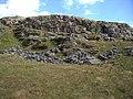 Cliff near Moel Ddinas - geograph.org.uk - 185603.jpg