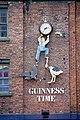 Clock above an Irish pub near Liverpool Central Station - geograph.org.uk - 1956162.jpg