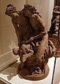 Clodion, coppia di gruppi di baccanti con ninfa, satiro e fanciullo, 1775 ca. 02.jpg