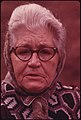Closeup of Mrs. Berry Howard, Wife of a Retired Coal Miner Who Lives in Cumberland, Kentucky 10-1974 (3907246208).jpg